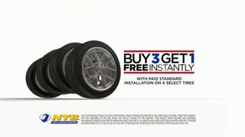 National Tire & Battery TV Spot, \'Remains Challenging: Buy Three Get One Free\'
