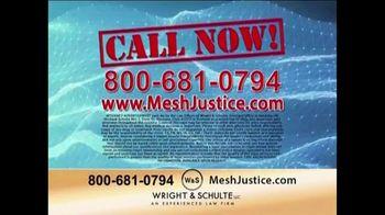 Wright & Schulte, LLC TV Spot, 'Mesh Justice' - Thumbnail 10