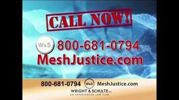 Wright & Schulte, LLC TV Spot, 'Mesh Justice' - Thumbnail 4
