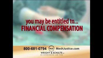 Wright & Schulte, LLC TV Spot, 'Mesh Justice' - Thumbnail 6