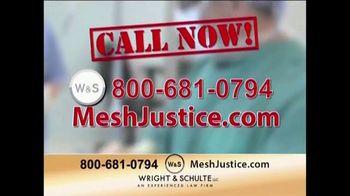 Wright & Schulte, LLC TV Spot, 'Mesh Justice' - Thumbnail 7