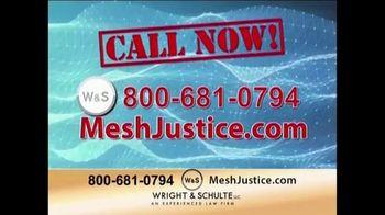 Wright & Schulte, LLC TV Spot, 'Mesh Justice' - Thumbnail 8