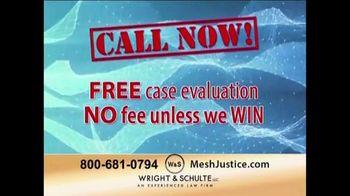 Wright & Schulte, LLC TV Spot, 'Mesh Justice'