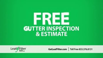 LeafFilter TV Spot, 'End Gutter Cleaning Forever: 15 Percent Off' - Thumbnail 10