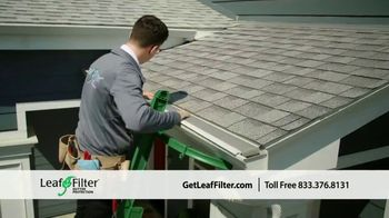 LeafFilter TV Spot, 'End Gutter Cleaning Forever: 15 Percent Off'