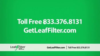 LeafFilter TV Spot, 'End Gutter Cleaning Forever: 15 Percent Off' - Thumbnail 9