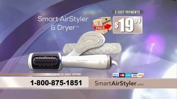 Smart Airstyler & Dryer TV Spot, 'Salon Results in Half the Time' - Thumbnail 9