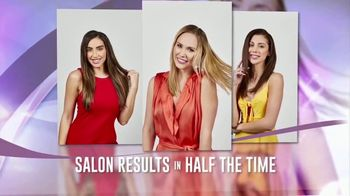 Smart Airstyler & Dryer TV Spot, 'Salon Results in Half the Time' - Thumbnail 1
