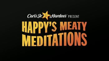 Carl's Jr. TV Spot, 'Happy's Meaty Meditations: Be the Beef' - Thumbnail 1