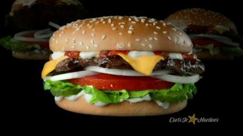 Carl's Jr. TV Spot, 'Happy's Meaty Meditations: Be the Beef' - Thumbnail 2