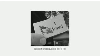 Republicans for the Rule of Law TV Spot, 'Our Patriotic Duty' - Thumbnail 2