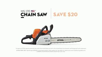 STIHL MS 170 Chain Saw TV Spot, 'Great American Outdoors' - Thumbnail 7