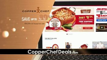 Copper Chef Biggest Sales Event TV Spot, 'Add Some Sizzle' - Thumbnail 7