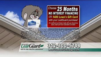 LeafGuard of Chicago $99 Install Sale TV Spot, 'No Matter the Weather' - Thumbnail 3