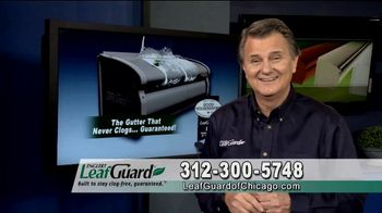 LeafGuard of Chicago $99 Install Sale TV Spot, 'No Matter the Weather'
