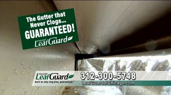 LeafGuard of Chicago $99 Install Sale TV Spot, 'No Matter the Weather' - Thumbnail 7