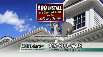 LeafGuard of Chicago $99 Install Sale TV Spot, 'No Matter the Weather' - Thumbnail 8