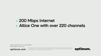 Optimum Altice One + Internet TV Spot, 'Here to Keep You Connected' - Thumbnail 4