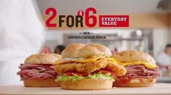 Arby's 2 for $6 Everyday Value Menu TV Spot, 'Rhetorical Questions' Song by YOGI - Thumbnail 7