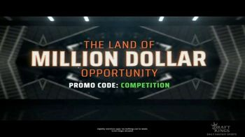 DraftKings TV Spot, \'Competition: Million Dollar Opportunity\'