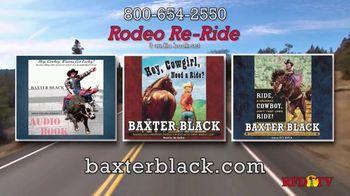 Baxter Black TV Spot, 'Rodeo Re-Ride Audio Book Set'