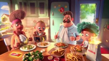 Grubhub TV Spot, 'Johnson Family: Delivery Perk' Song by Fatboy Slim