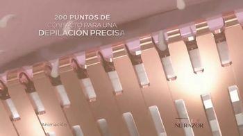 Finishing Touch Flawless Nu Razor TV Spot, '200 puntos de contacto' [Spanish] - Thumbnail 2