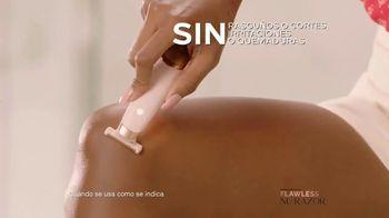 Finishing Touch Flawless Nu Razor TV Spot, '200 puntos de contacto' [Spanish] - Thumbnail 5