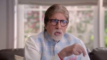 Bikaji Tana Tan Aloo Bhujia TV Spot, 'Watching TV' Featuring Amitabh Bachchan