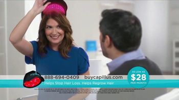 Capillus Fall Sitewide Sale TV Spot, 'Treat Hair Loss at Home'