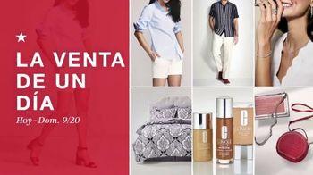 Macy's Venta de Un Día TV Spot, 'Juegos de cama, edredón y Martha Stewart' [Spanish] - Thumbnail 1