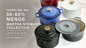 Macy's Venta de Un Día TV Spot, 'Juegos de cama, edredón y Martha Stewart' [Spanish] - Thumbnail 4
