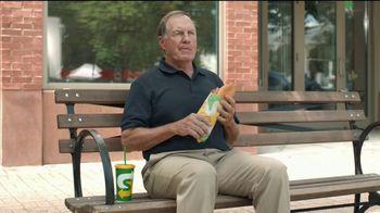 Subway TV Spot, 'Footlong Season: Joy of Belichick' Featuring Bill Belichick - 14 commercial airings