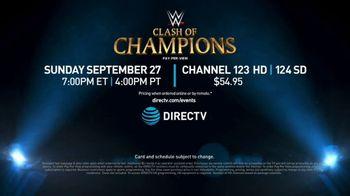 DIRECTV TV Spot, 'WWE Clash of Champions' - Thumbnail 9