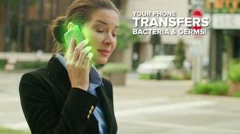 Sharper Image UV-Zone Phone Sanitizer TV Spot, 'Don't Let Bacteria Harm You: Buy Two Get One'