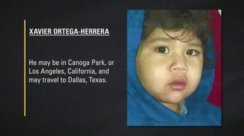 National Center for Missing & Exploited Children TV Spot, 'Xavier Ortega-Herrera' - Thumbnail 5