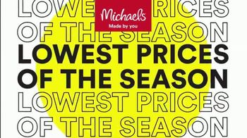Michaels Lowest Prices of the Season Sale TV Spot, 'Select Frames, Fall and Halloween Decor' - Thumbnail 1
