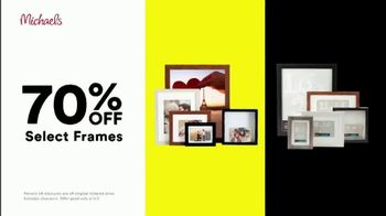 Michaels Lowest Prices of the Season Sale TV Spot, 'Select Frames, Fall and Halloween Decor'