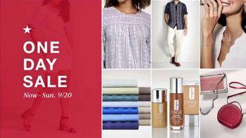 Macy's One Day Sale TV Spot, 'Women's Shoes, Apparel, EFFY Jewelry' - Thumbnail 1