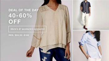 Macy's One Day Sale TV Spot, 'Women's Shoes, Apparel, EFFY Jewelry' - Thumbnail 4