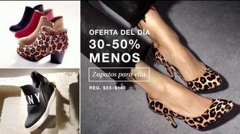 Macy's Venta de Un Día TV Spot, 'Zapatos, ropa y diamantes' [Spanish] - Thumbnail 2