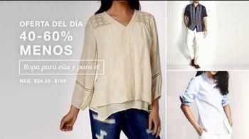Macy's Venta de Un Día TV Spot, 'Zapatos, ropa y diamantes' [Spanish] - Thumbnail 3