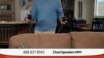 Chair Speaker TV Spot, 'Next to You' - Thumbnail 4