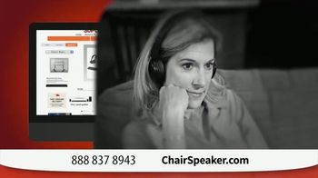 Chair Speaker TV Spot, 'Next to You' - Thumbnail 6