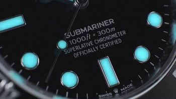 Rolex Oyster Perpetual Submariner TV Spot, 'New' - Thumbnail 7