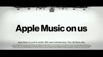 Verizon TV Spot, 'Unlimited Built Right: Apple Music + Two iPhone 11 for $5 a Month' - Thumbnail 5
