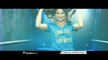 Fanatics.com TV Spot, 'The Latest in Women's Sports Apparel'