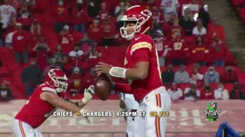 DIRECTV NFL Sunday Ticket TV Spot, 'Week Two Games' Featuring Patrick Mahomes - Thumbnail 3