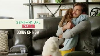 Ashley HomeStore Semi-Annual Sale TV Spot, 'Up to 25% Off & 0% Interest: 36 Months'