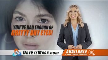Wizard Research Electric Dry Eye Mask TV Spot, 'Targeted Heat Therapy'